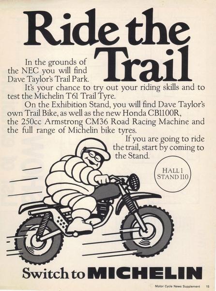 locandina t61 michelin ride the trail